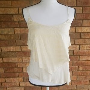 Jessica Simpson Asymmetrical Layered Top Size M